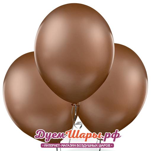Шар металл Шоколадный
