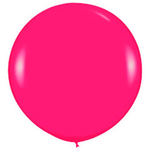 Большой шар Малиновый