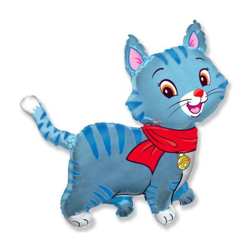 Мой милый котенок (голубой)