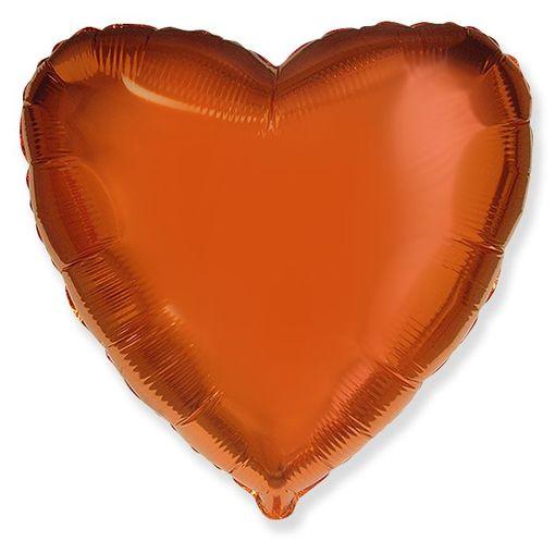 Сердце Оранжевое