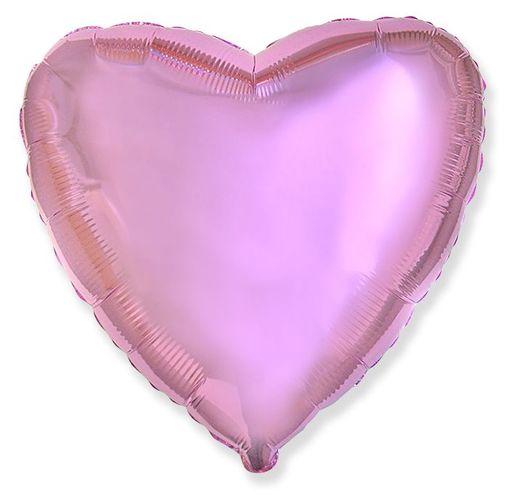 Сердце Розовое нежное