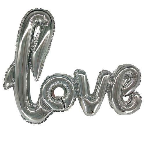 """Надпись """"LOVE"""" серебро"""