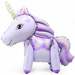 Ходячая Фигура Единорог Фиолетовый