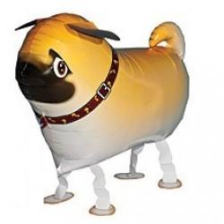 Ходячая фигура Собака Мопс