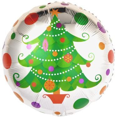 Круг Новогодняя елка
