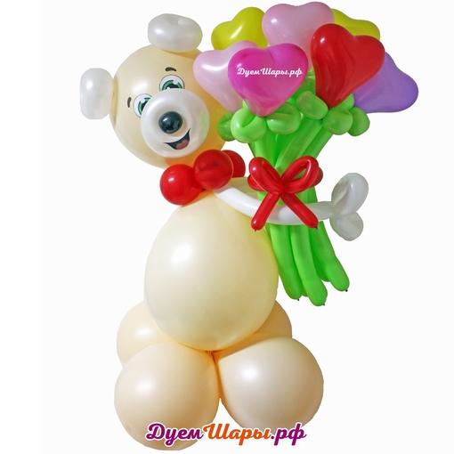 Фигура Влюбленный мишка