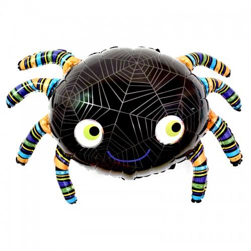 Паук Черный Хэллоуин