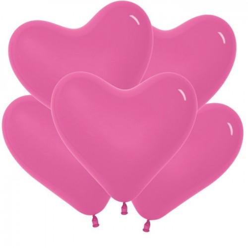 Сердце Фуксия (латекс)