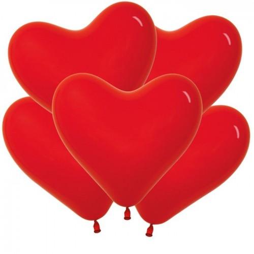 Сердце Красное (латекс)
