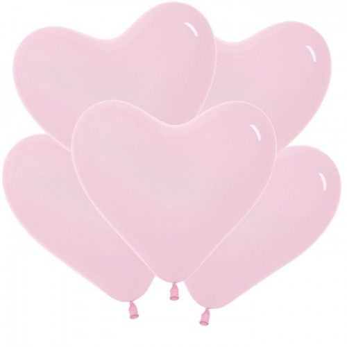 Сердце Розовое (латекс)